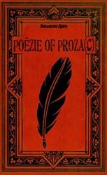 Poezie of Proza(c) Van der Zijden, Tom