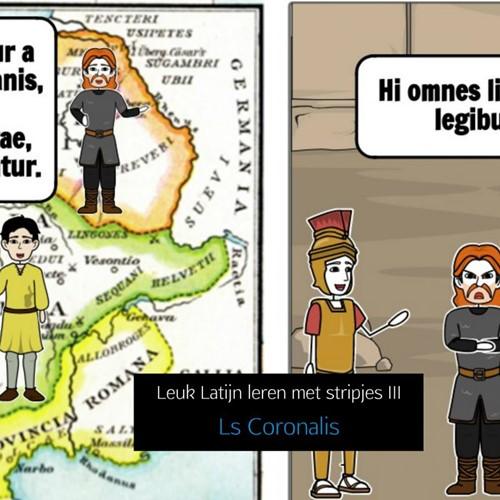 Leuk Latijn leren met stripjes III Coronalis, Ls