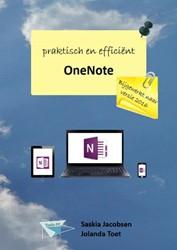 OneNote praktisch en efficient -bijgewerkt naar versie 2016 Jacobsen, Saskia