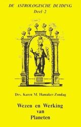 De astrologische duiding Wezen en werkin -9063780486-A-GEB Hamaker-Zondag, K.M.