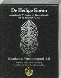 De Heilige Koran (luxe pocket uitgave in -met Nederlandse vertaling en t ranslitteratie van de Arabisch Muhammad Ali