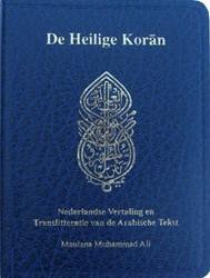 De Heilige Koran (pocket uitgave in het -met Nederlandse vertaling en t ranslitteratie van de Arabisch Muhammad Ali