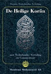 De Heilige Koran (inclusief CD-ROM, boek -Arabische tekst met Nederlands e vertaling en commentaar Muhammad Ali