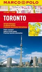 Marco Polo Toronto Cityplan -Stadsplattegrond 1:15 000