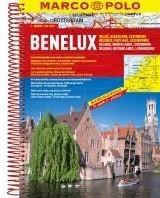 Benelux Wegenatlas Marco Polo -Wegenatlas 1:200 000