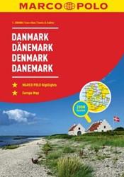 Denemarken Wegenatlas Marco Polo -Wegenatlas 1:200 000