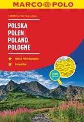 Polen Wegenatlas Marco Polo -Wegenatlas 1:300 000