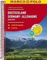 Duitsland Wegenatlas 2018/2019 Marco Pol -Wegenatlas 1:300 000/1:4 500 0 00