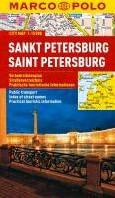 Marco Polo Sint-Petersburg Cityplan -Stadsplattegrond 1:15 000