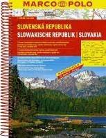 Slowakije Wegenatlas Marco Polo -Wegenatlas 1:200 000