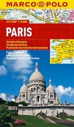 Marco Polo Parijs Cityplan -Stadsplattegrond  1:15 000