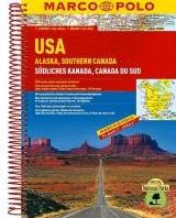 Verenigde Staten / Alaska - Zuid-Canada -Wegenatlas 1:2 000 000 / 1:4 0 00 000