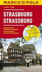 Marco Polo Straatsburg Cityplan -Stadsplattegrond 1:15 000
