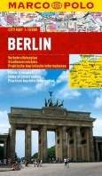 Marco Polo Berlijn Cityplan -Stadsplattegrond 1:300 000 / 1 :15 000