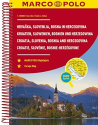 Kroatie, Slovenie, Bosnie-Herzegovina We -Wegenatlas 1:300 000
