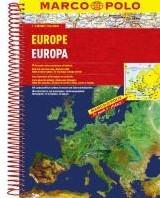 Europa Wegenatlas Marco Polo -Wegenatlas 1:200 000