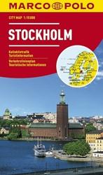 Marco Polo Stockholm Cityplan -Stadsplattegrond 1:15 000
