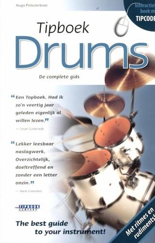 Tipboek Drums -de complete gids Pinksterboer, Hugo