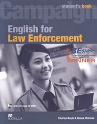 English for Law Enforcement -Student Book with CD-ROM