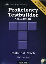 New Proficiency Testbuilder Student Book Harrison, Mark