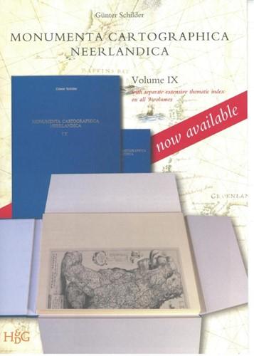 Monumenta Cartographica Neerlandica IX -with separate extensive themat ic index on all 9 volumes Schilder, Gunter