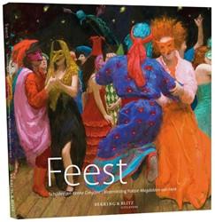 Feest, Schilderijen Kenne Gregoire|Bloem -schilderijen Kenne Gregoire, Bloemlezing Poezie Herk, Magdaleen van