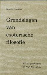 Adyar Grondslagen van esoterische filoso -uit de geschriften van H.P. Bl avatsky Blavatsky, H.P.