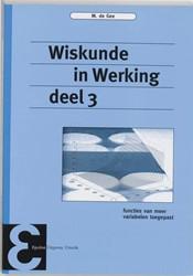 Wiskunde in Werking -functies van meer variabelen t oegepast Gee, M. de