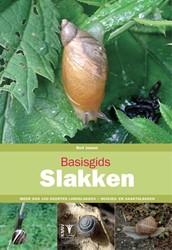 Basisgids slakken - natuurgids -meer dan 100 soorten landslakk en - huisjes- en naaktslakken Jansen, Bert