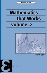 Mathematics that Works -analysis Applied Gee, Maarten de