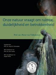 Onze natuur vraagt om ruimte, duidelijkh Vollenhoven, Pieter van