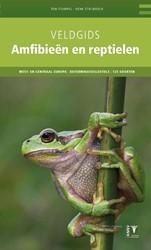 Veldgids Amfibieen en reptielen - natuur -West- en Centraal Europa / det erminatiesleutels / 143 soorte Stumpel, Ton