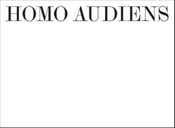 Homo audiens -kleine typologie van de klassi eke-concertbezoeker Berge, Pieter