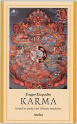 Karma -oorzaak en gevolg in het Tibet aans boeddhisme Rinpoche, Dagpo