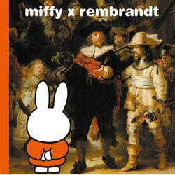 miffy x rembrandt Bruna, Dick