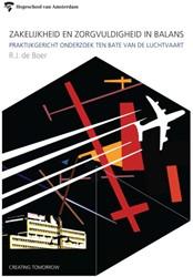 HVA Openbare Lessen Zakelijkheid en zorg -praktijkgericht onderzoek ten bate van de luchtvaart. lector Boer, Robert Jan de