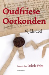 Estrikken Oudfriese oorkonden -vijfde deel