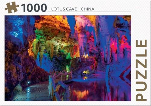 Rebo legpuzzel 1000 stukjes - Lotus Cave