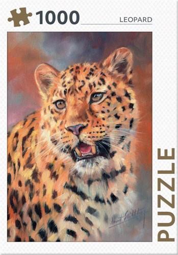 Rebo legpuzzel 1000 stukjes - Leopard