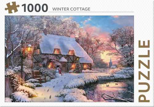 Rebo legpuzzel 1000 stukjes - Winter Cot