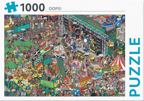 Rebo legpuzzel 1000 stukjes - Oops!