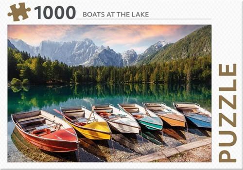 Rebo legpuzzel 1000 stukjes - Boats at t