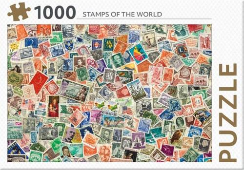 Rebo legpuzzel 1000 stukjes - Stamps of