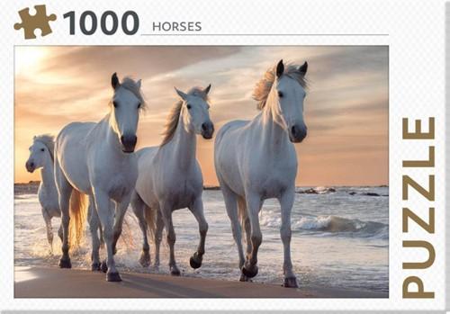 Rebo legpuzzel 1000 stukjes - Horses