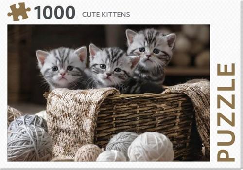 Rebo legpuzzel 1000 stukjes - Cute Kitte