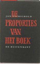De proporties van het boek Tschichold, J.