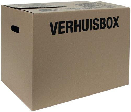 VERHUISDOOS BUDGET 480X320X360MM BR -VERZENDDOZEN 10079