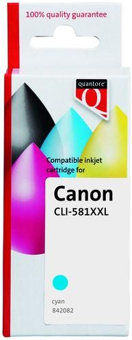 INKCARTRIDGE QUANTORE CANON CLI-581XXL -QUANTORE INKJET K20747PR BLAUW