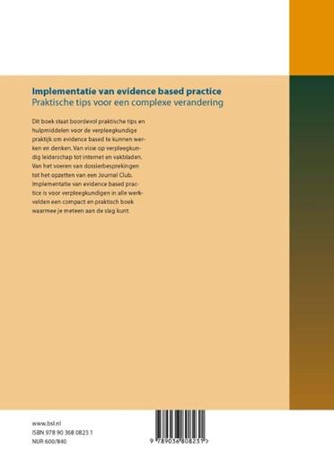 Implementatie van evidence based practic -praktische tips voor een compl exe verandering-2