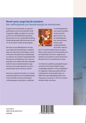 Nooit meer angst bij de tandarts -een zelfhulpboek om tandartsan gst te overwinnen Anneese, C.W.-2
